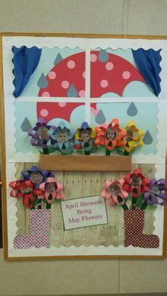 educational themes for april classroom door decorating idea for april may pre k