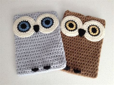 crochet ipad bag pattern crochet owl ipad case tablet cover my life and cases