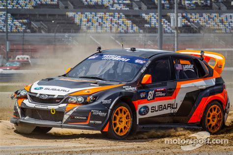 #81 Subaru Rally Team USA Subaru WRX STi: Bucky Lasek at