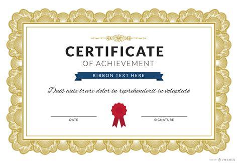 certificate of template free certificate vector free border gallery certificate