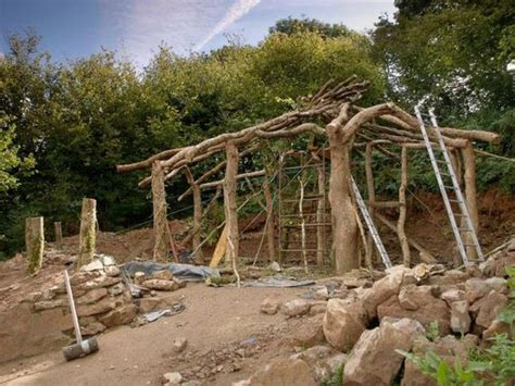 building a home building a real life hobbit house pics