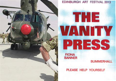 Vanity Press by Fiona Banner