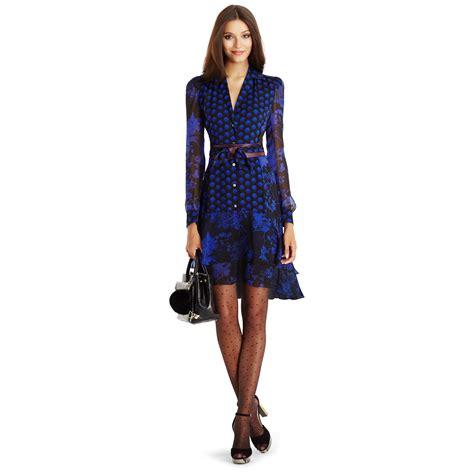 Dvf Dresses by Diane Furstenberg Dvf Catherine Chiffon Shirt Dress In