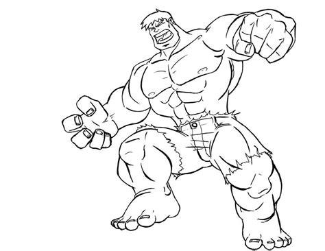 green hulk coloring page galer 237 a de im 225 genes dibujos de superh 233 roes para colorear