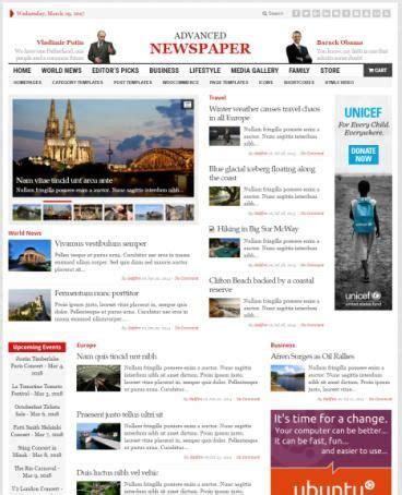 theme name newspaper gabfire advanced newspaper review read truth