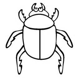 beetle insect coloring pages to printable