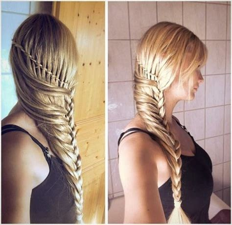 stylish braided hairstyle tutorial alldaychic