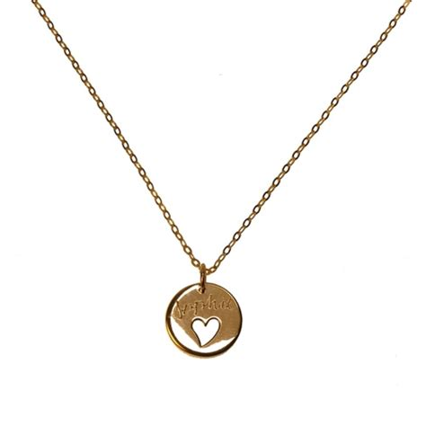 engraved necklace 8 charming engravable