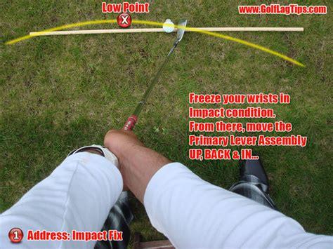 golf swing counter hitting vs swinging part 3 hitting golf lag tips