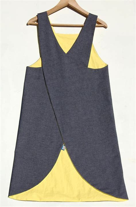 pattern for crossover apron denim waterproof crossover back japanese apron by zutusine