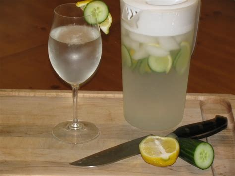Detox Drink Lemon Lime Cucumber by Refreshing Detox Lime Cucumber Mint Water