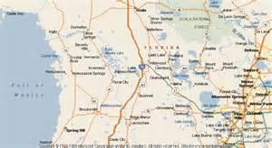 Hernando Florida Map map of hernando