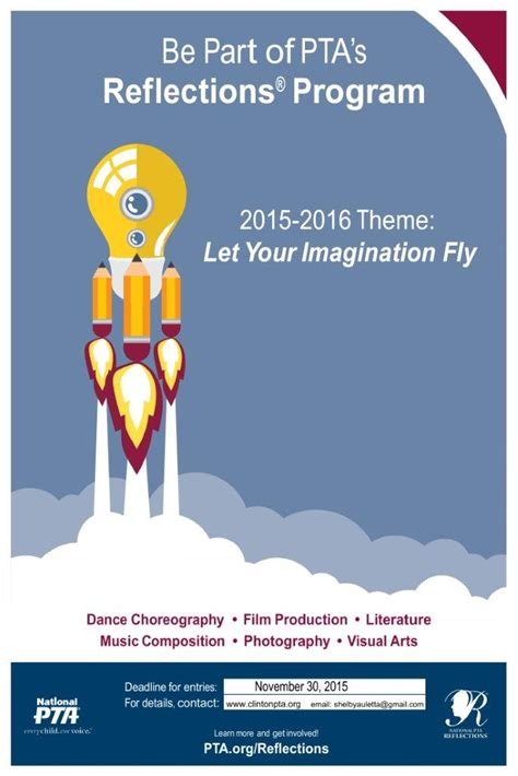 2015 2016 pta membership card template reflections competition results 2015 16 clinton pta