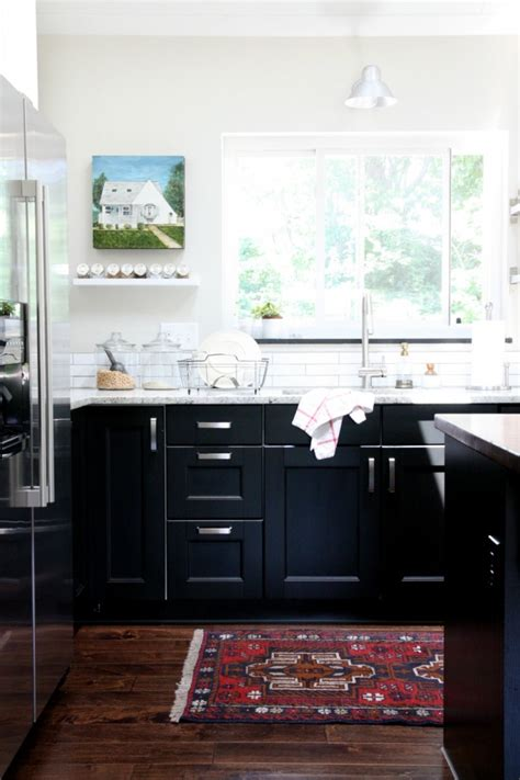 Rehab Diary An Ikea Kitchen By House Tweaking Remodelista Ikea Black Kitchen Cabinets