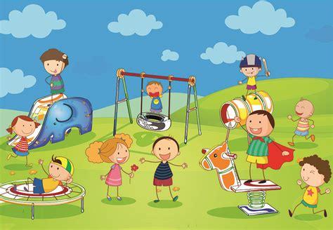 imagenes de niños jugando golosa vinilos decorativos ni 209 os jugando en el parque