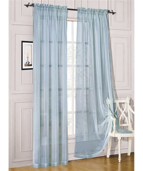 Light Teal Valance Light Teal Sheer Curtains