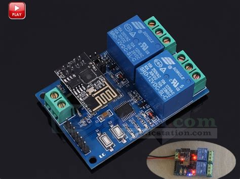 Esp8266 5v Wifi Relay Module Diy Iot Remote Smart Home 12v wifi relay module esp8266 iot app remote controller 2 channel for smart home automation board