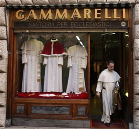 Room Of Tears by Papal Tailors Ready No Matter What Size The New Pope Is