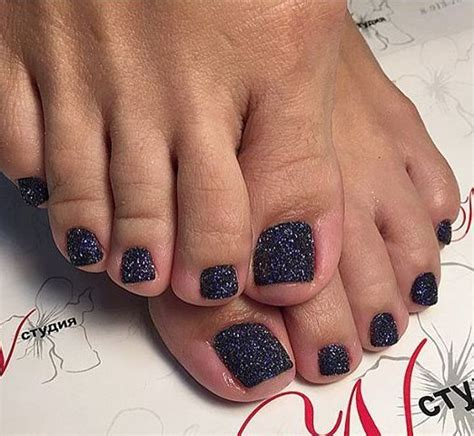 Black Toe Nail Designs