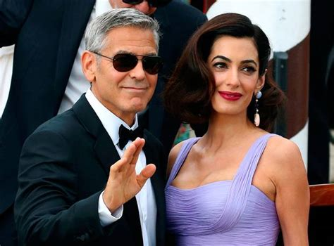 actor george clooney wife george clooney finally reveals how he met wife amal and