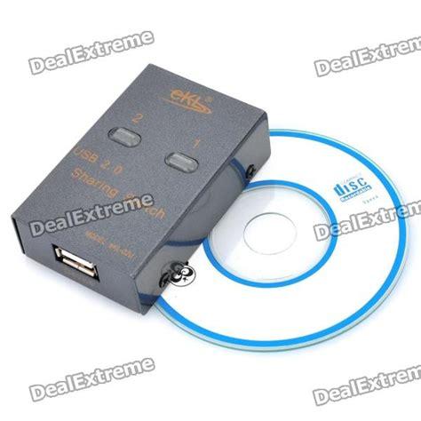 Diskon Auto Switch Printer 2 Port Usb Switcher usb 2 0 2 port auto switch printer splitter