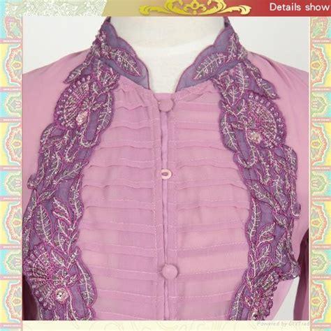 design baju cotton mf18708 new design cotton embroidery baju kurung muslim