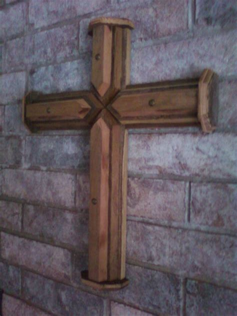 Handmade Crosses - handmade cross from reclaimed wood crosses