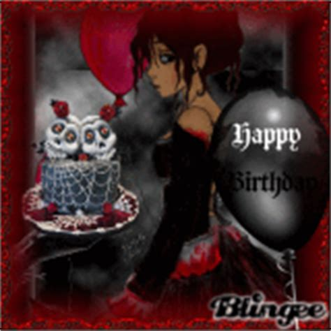 happy birthday cartoon emo mp3 download gothic birthday cake pictures p 1 of 1 blingee com