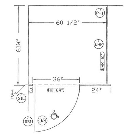 ada compliant bathroom dimensions restroom accessibility ada handicap bathroom floor plans