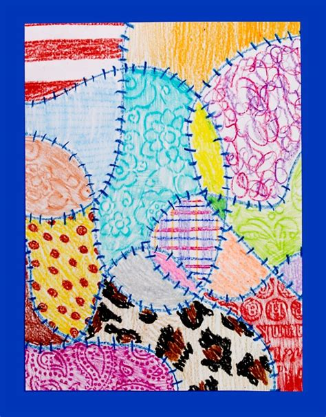 The Patchwork Quilt Lesson Plans - quilts crayola