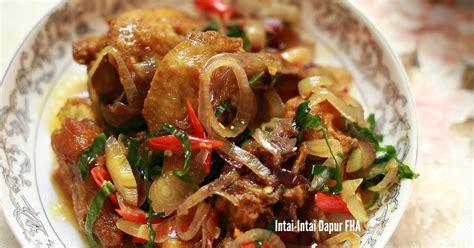 Minyak Goreng Ho Ya ayam goreng daun kunyit memang sedap tak rugi mencuba fha selemak santan