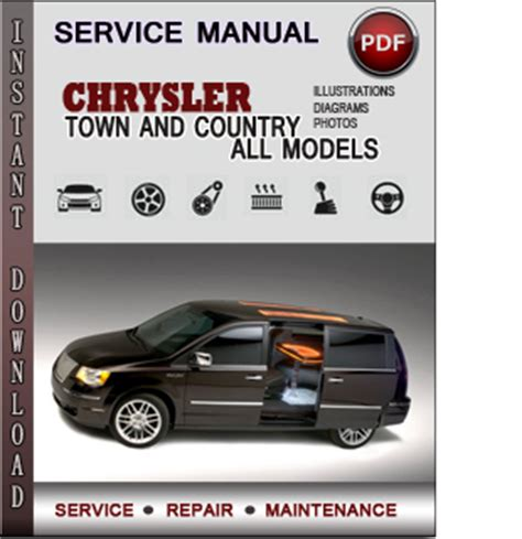 free auto repair manuals 2004 chrysler town country user chrysler town and country service repair manual download