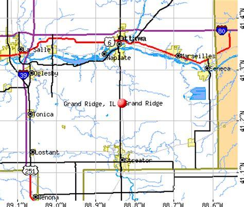 grand il map grand ridge illinois il 61325 profile population maps