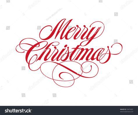 merry christmas vector lettering stock vector  shutterstock