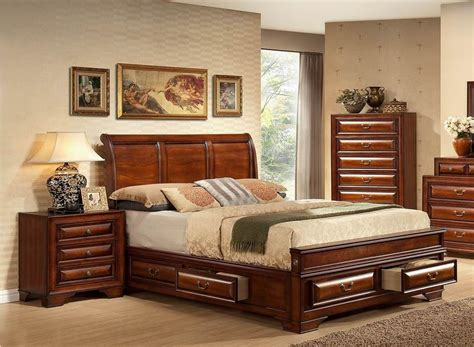 cherry decorations for home storage bed in cherry finish express home decor