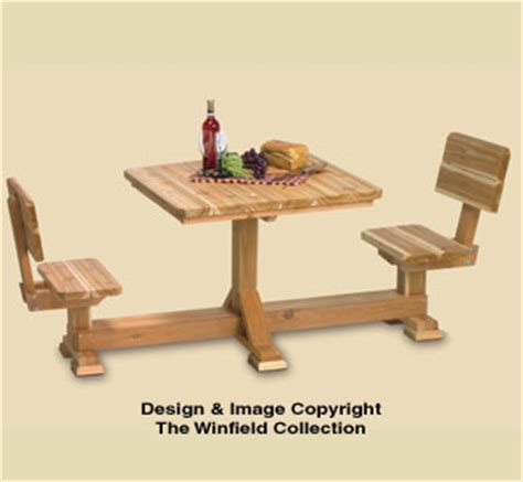 picnic table wood plans  person picnic table