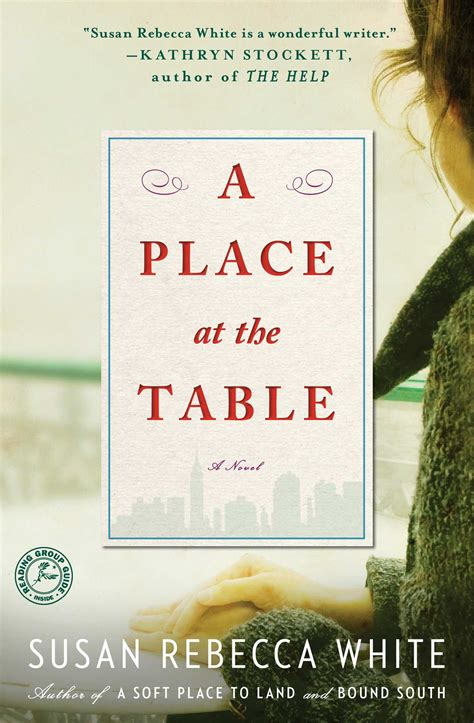 a place at the table book by susan white