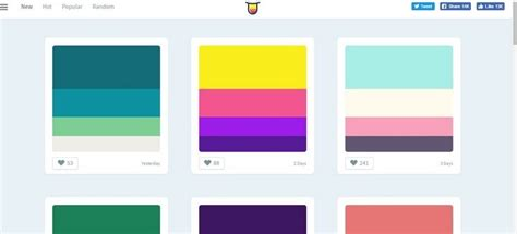 color palette exles color palette 100 images trendy web color palettes