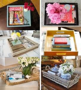 coffee table tray ideas d e s i g n d e c o r