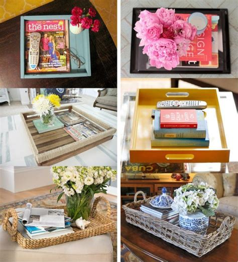 Coffee Table Decor Tray by Coffee Table Tray Ideas D E S I G N D E C O R