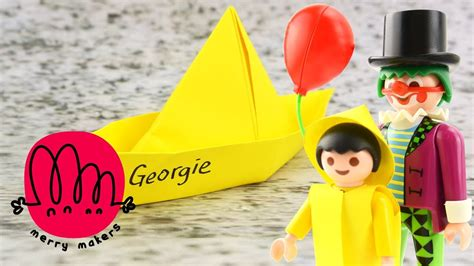 paper boat it it special how to make georgie s paper boat origami for