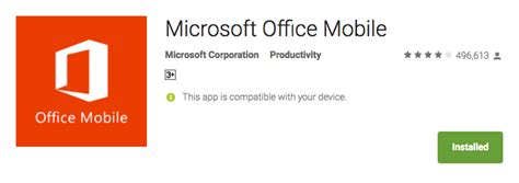 ms office for android top 10 best productivity apps for android tech10ment