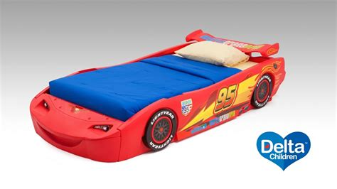 disney car bed disney pixar cars twin bed with lights youtube