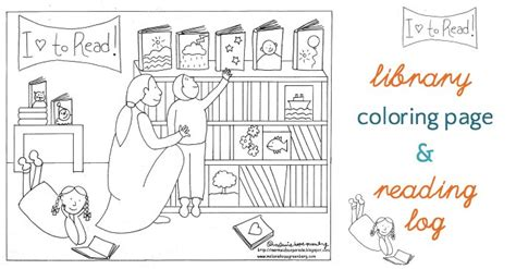 summer reading coloring page library coloring page and summer reading log