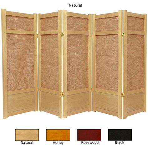 Create Unique And Individual Spaces In Your Home With This 5 Panel Room Divider