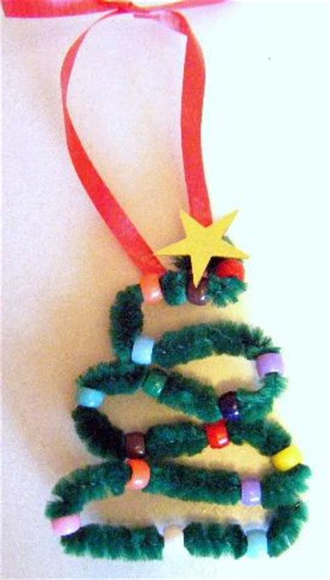 kids christmas crafts pipe cleaner christmas tree