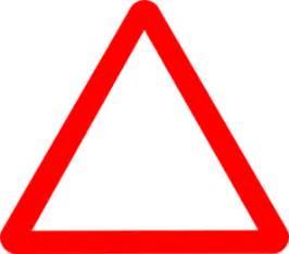 red warning triangle clip art at clker.com vector clip