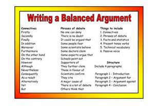 balanced argument vocabulary and resource pack by