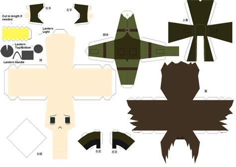 Deviantart Papercraft - daniel papercraft by shifteryoukai on deviantart
