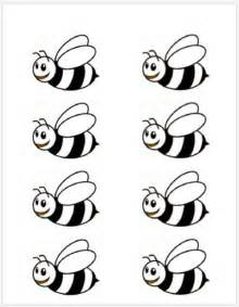 honey bee template bumble bee template printable school at home